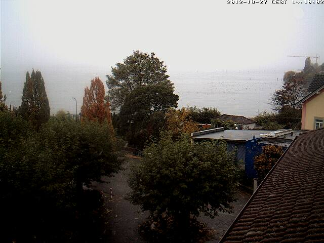 Webcam am Landesteg, Sicht nach Westen