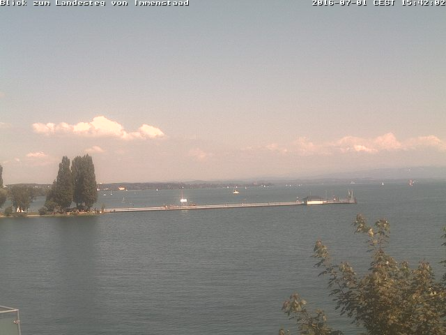 Blick Immenstaad Bodensee